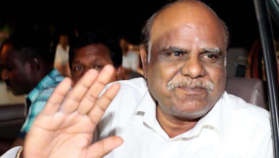 Justice CS Karnan,Supreme Court,mpt of Court