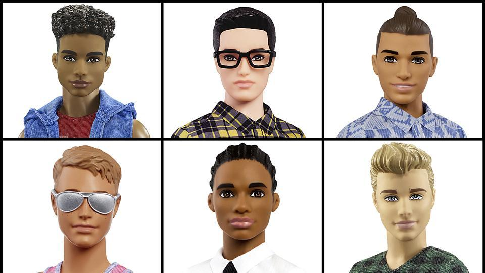 Popular to brand Mattel announced that the company is introducing 15 new looks for the male doll, Ken.
