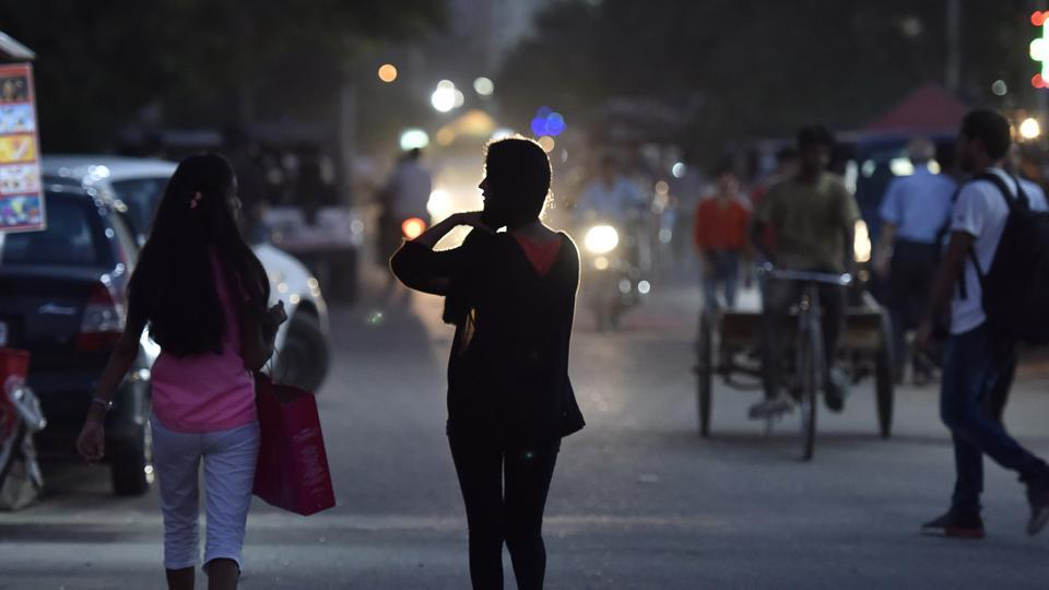 Two students, one of them a Young India fellow, had complained to the police on Monday that they were groped and presumed to be call girls at the MallMile on Friday night.