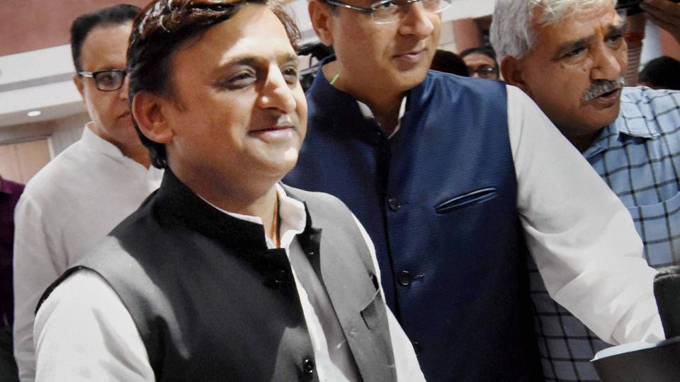 Samajwadi Party President and former Uttar Pradesh Chief Minister Akhilesh Yadav