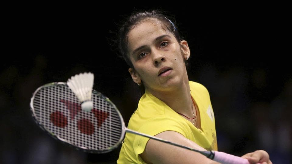 Ace Indian shuttler Saina Nehwal  led the Indian advance at the Australian Open in Sydney on Wednesday.