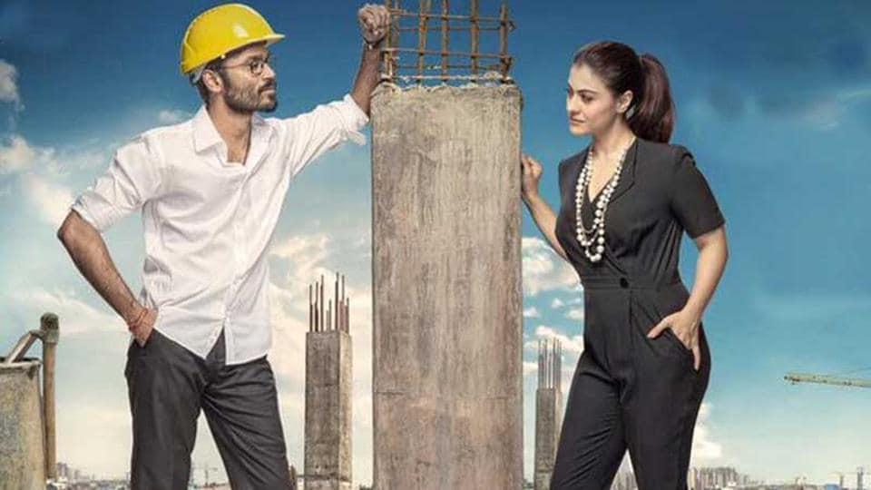 VIP 2 stars Dhanush and Kajol in the lead roles.