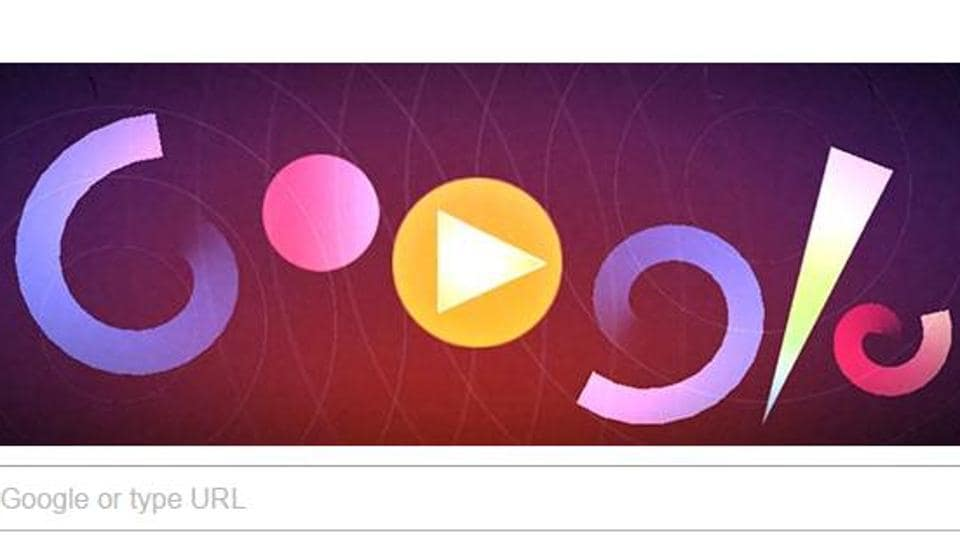 The new doodle has caught the fancy of social media users, who can't seem to get enough of it.  (Google\Screengrab)
