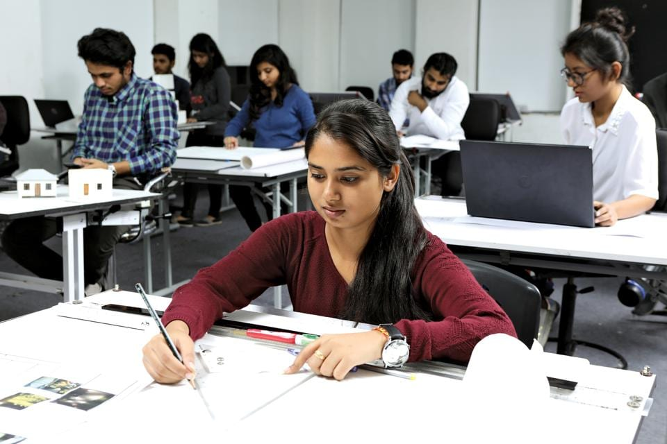 Empowering the future architects of india s urban for Universities that offer interior design