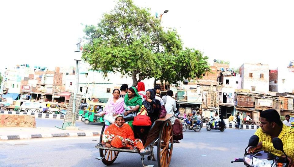 Until a few years ago, tongas were as common as rickshaws in Delhi.