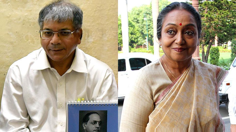 The Congress-led opposition will pick their presidential candidate on Thursday. They have narrowed their choice to between former Lok Sabha Speaker Meira Kumar and BR Ambedkar's grandson Prakash.