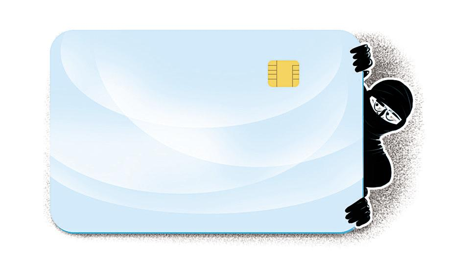 One of the accused would withdraw money from ATMs using cloned cards.