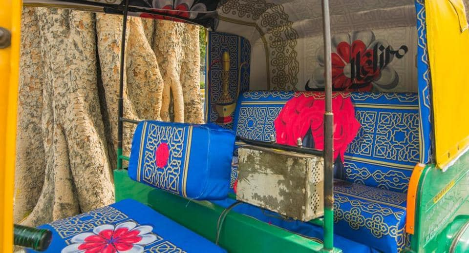 Even Mirza Asadullah Khan Ghalib, popularly referred to as Delhi's oldest poet, wouldn't have thought that his name will receive a tribute via a crucial medium of public transport in the city — an auto rickshaw.