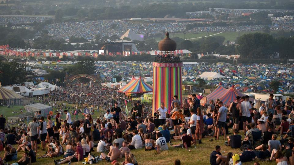 The Festival is considered as a major event in British culture, inspired by the ethos of the hippie, counterculture and free festival movements. Michael Eavis hosted the first festival after seeing an open-air Led Zeppelin concert in the 1970's.  (AFP)