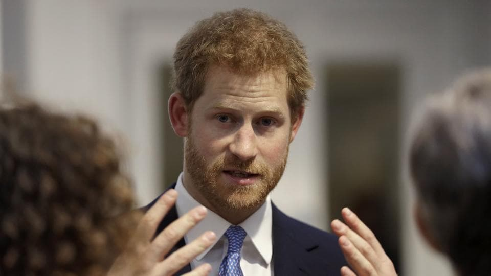 Britain's Prince Harry is fifth in line to the throne.