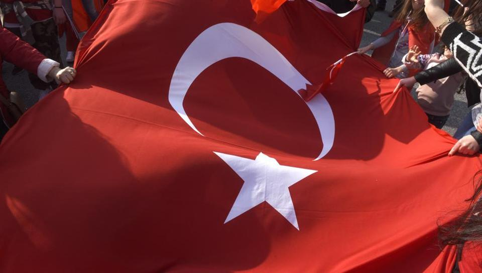 Turkey,Istanbul,Woman Assaulted
