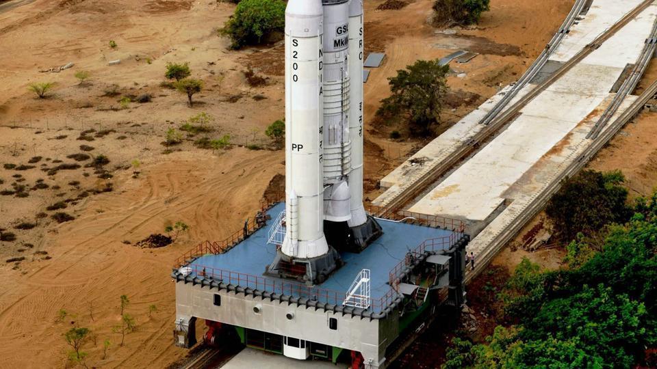 The launch pad in Sriharikota.