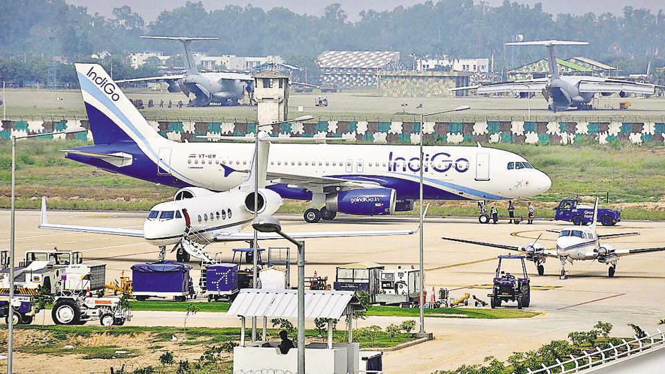 Two passengers with similar names and passenger name records (PNR) landed at Delhi airport en route for Dubai leading to a security scare on Monday.