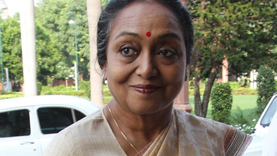 Meira Kumar is a former Lok Sabha Speaker.