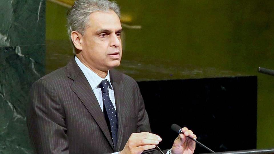 United Nations: India's permanent Representative to the UN, Ambassador Syed Akbaruddin