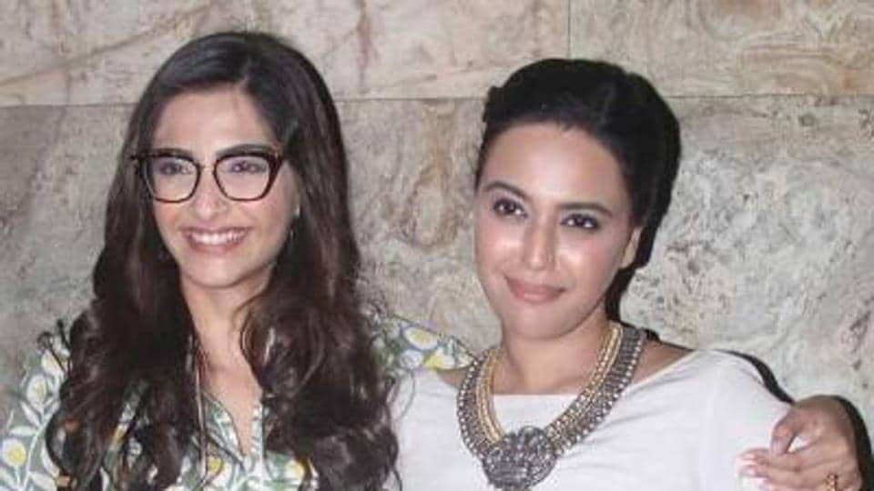 Actors Sonam Kapoor and Swara Bhaskar would share screen space in Veerey Di Wedding, which is helmed by Rhea Kapoor.