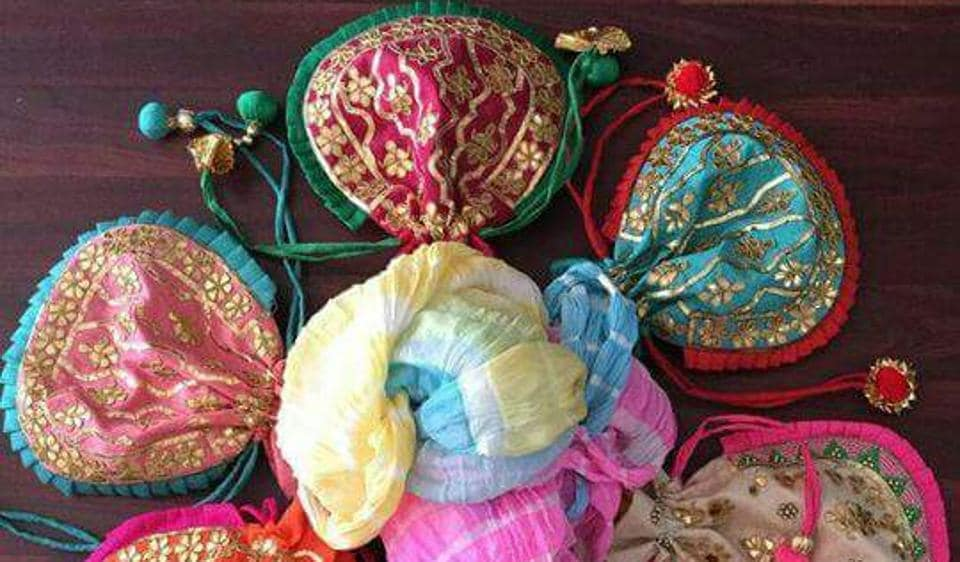 Jyoti Jadhav upcycles fabrics and old dresses to make purses, home decor and accessories.