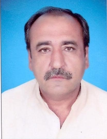 File photo of Abdul Majeed Khan Achakzai, a member of the assembly of Pakistan's Balochistan province.