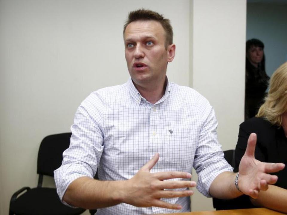 Russian opposition leader Alexei Navalny,European Court of Human Rights,President Vladimir Putin