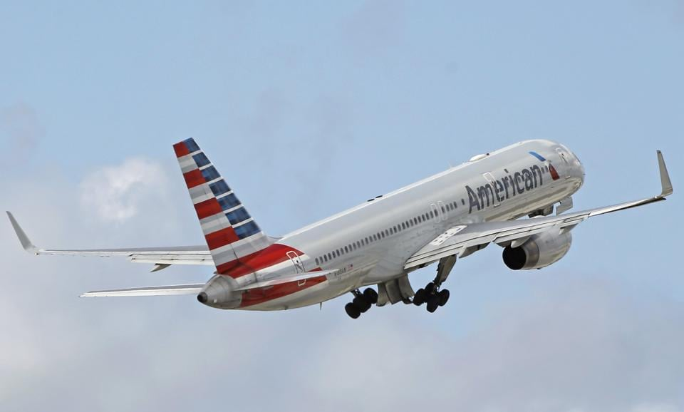 File photo of an American Airlines passenger jet.