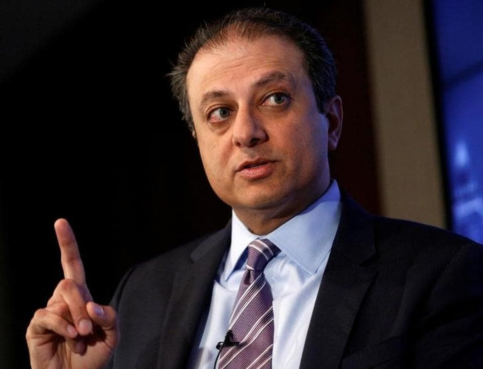 File photo of former US attorney Preet Bharara.