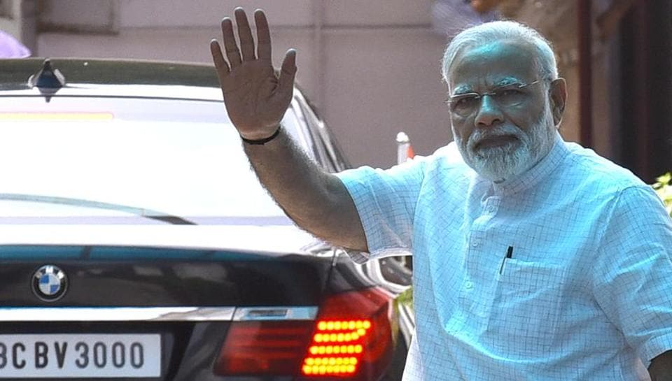 In the video, circulated on various WhatsApp groups, the accused is seen making derogatory comments against Prime Minister Narendra Modi.