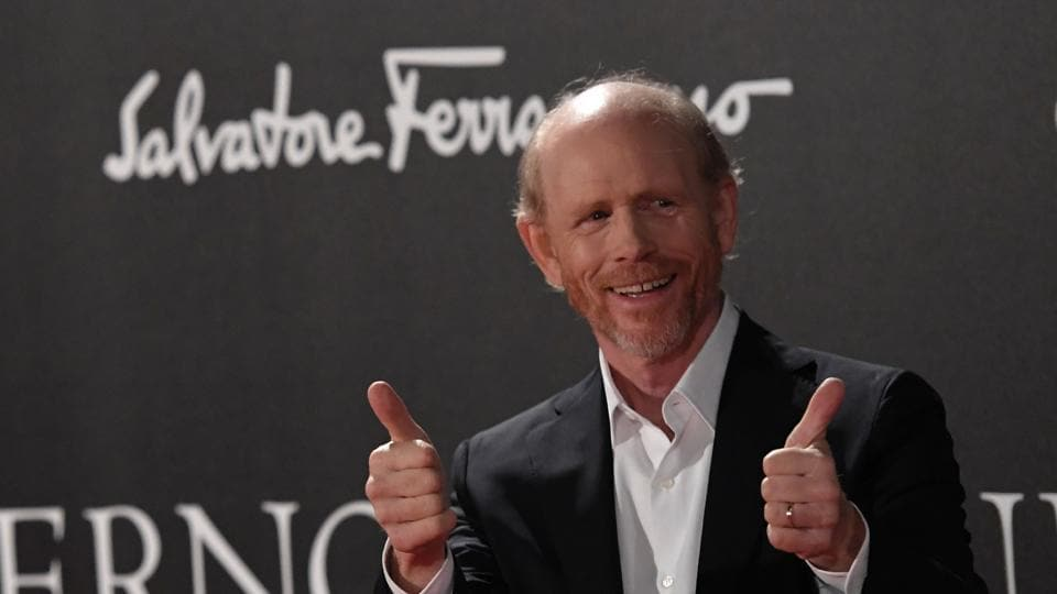 This file photo taken on October 8, 2016 shows Director Ron Howard as he attends the world premiere of his movie Inferno in Florence.