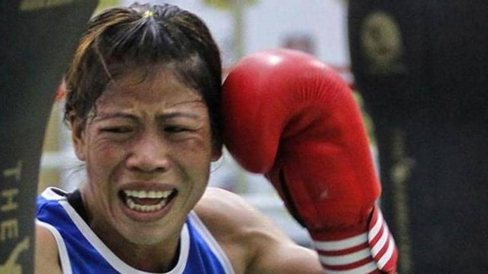 MC Mary Kom returned to action after a one-year hiatus at the Ulaanbaatar Cup..