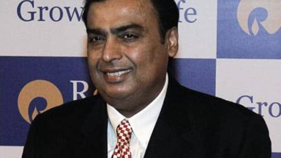 Mukesh Ambani's RIL held a market capitalisation of Rs 4,66,599.69 crore on Friday.