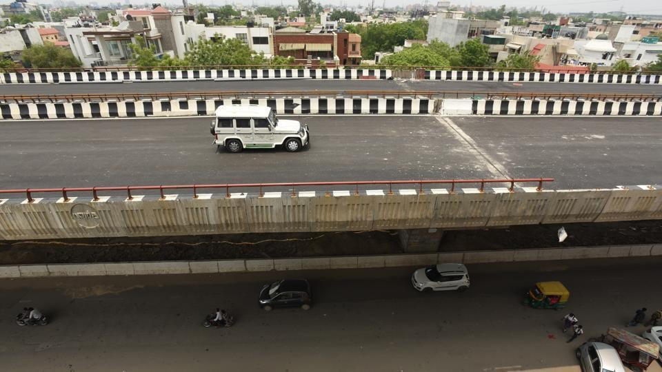 The Noida authority officials are busy in preparations ahead of the minister's visit, who will also review the progress of other under-construction infrastructure projects.