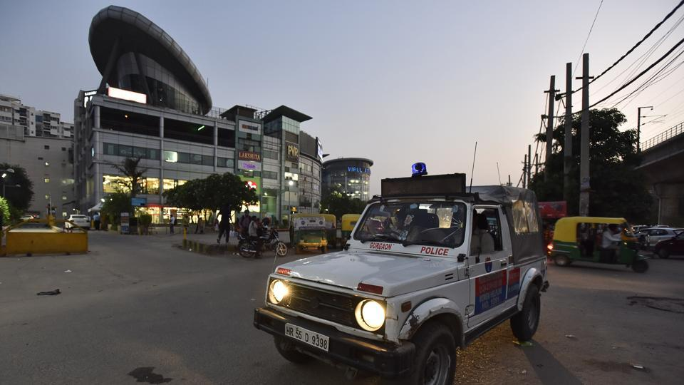 The police have also increased their presence by deploying two PCR vans on the busy road.