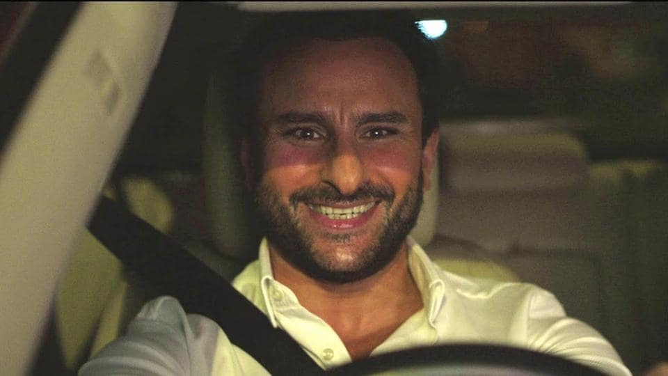 Saif Ali Khan in a still from Kaalakaandi.