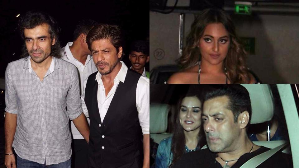 SRK, Salman, Sonakshi and more: Bollywood celebs watch Tubelight at special screening | bollywood | Hindustan Times