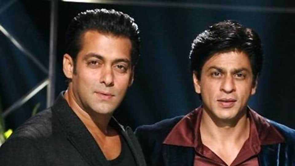 Salman Khan shares screen space with Shah Rukh Khan in Tubelight.