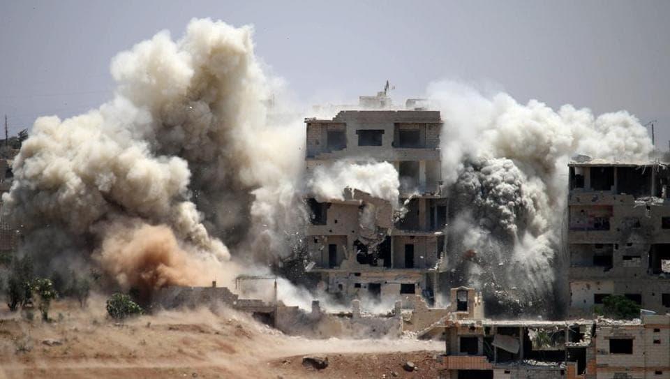 Syria,Syrian Air Strikes,US