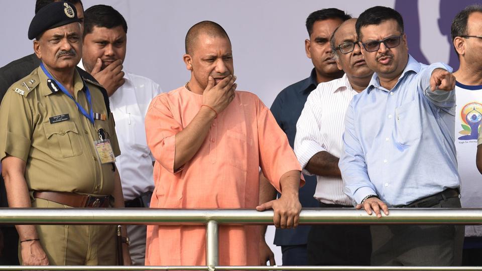 Samajwadi Party (SP),Akhilesh Yadav,Yogi Adityanath