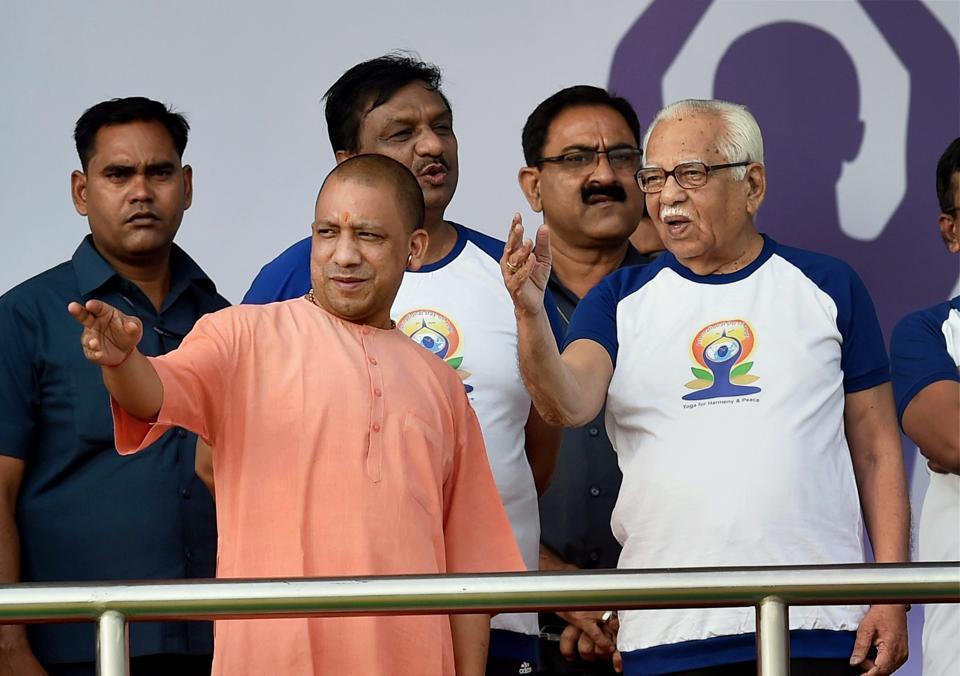 Uttar Pradesh chief minister Yogi Adityanath skips an iftar party governor Ram Naik hosted at Raj Bhawan on Friday.