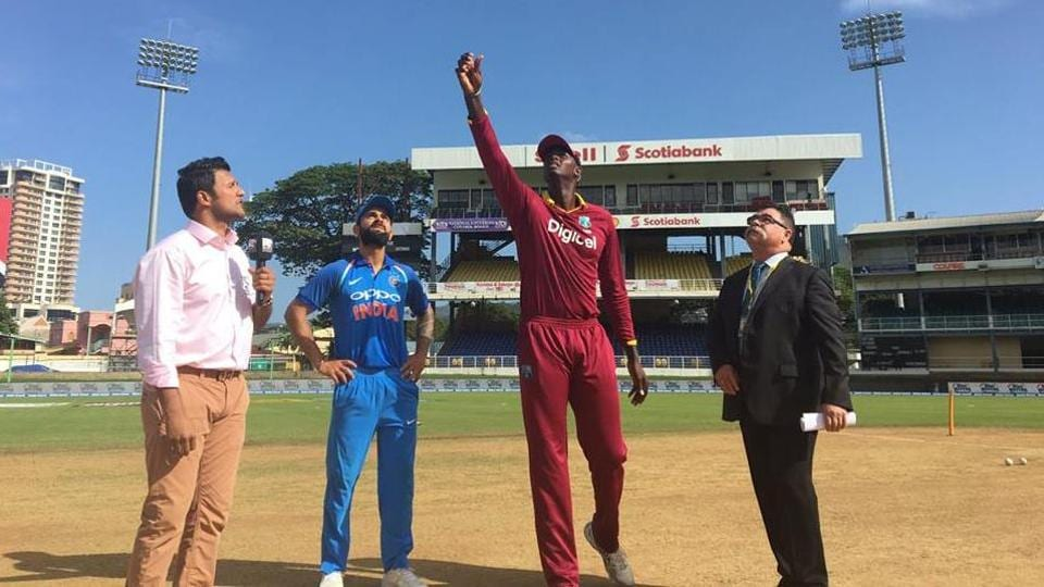 Jason Holder, West Indies captain, won the toss and opted to field.  (Twitter )