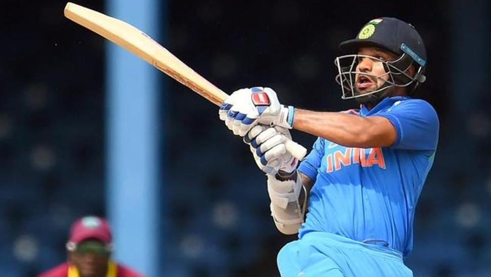 Shikhar Dhawan, who has been in great knick ever since the Champions Trophy, slammed his 20th fifty.  (AFP )
