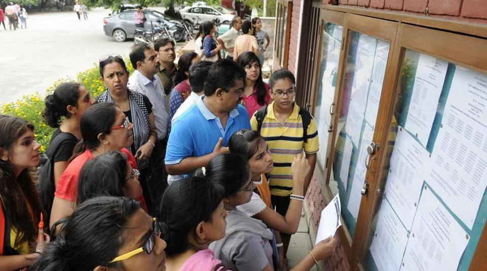 Delhi University,DU cut off list,SRCC