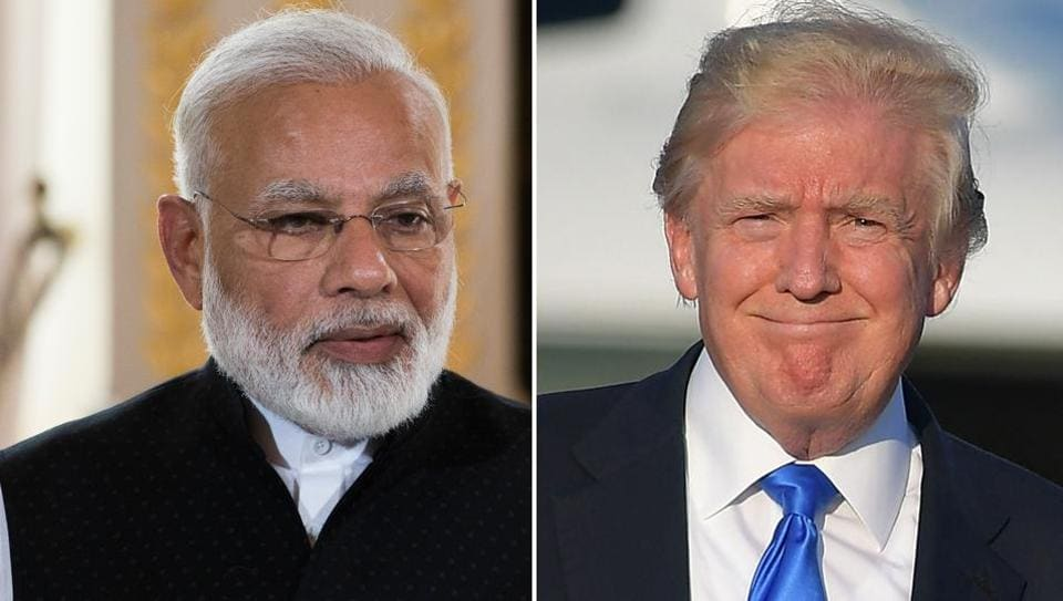 USPresident Donald Trump will host a working dinner for Prime Minister Narendra Modi at the White House on Monday.
