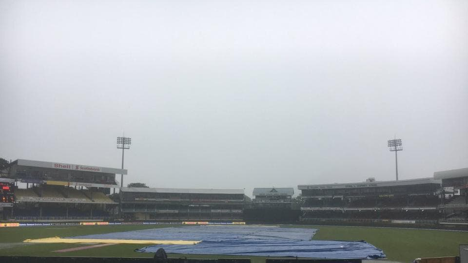 Rain played spoilsport on Friday as the first ODI between India and West Indies was abandoned with Virat Kohli's men batting for only 39.5 overs. (Twitter )