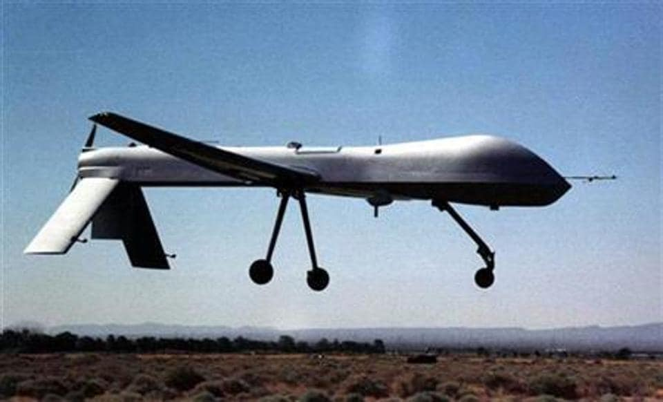 The drone targeted the militants in Kunar's Manogi district on Thursday night