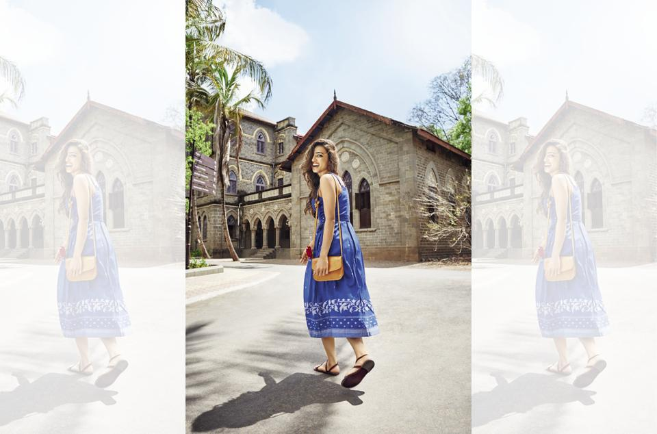 Radhika Apte takes Brunch along to visit her alma mater, Fergusson college, in Pune
