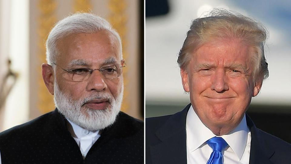 Narendra Modi,Donald Trump,India