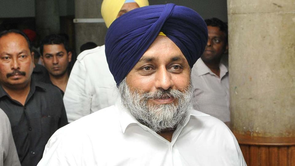 Shiromani Akali Dal chief Sukhbir SinghBadal.