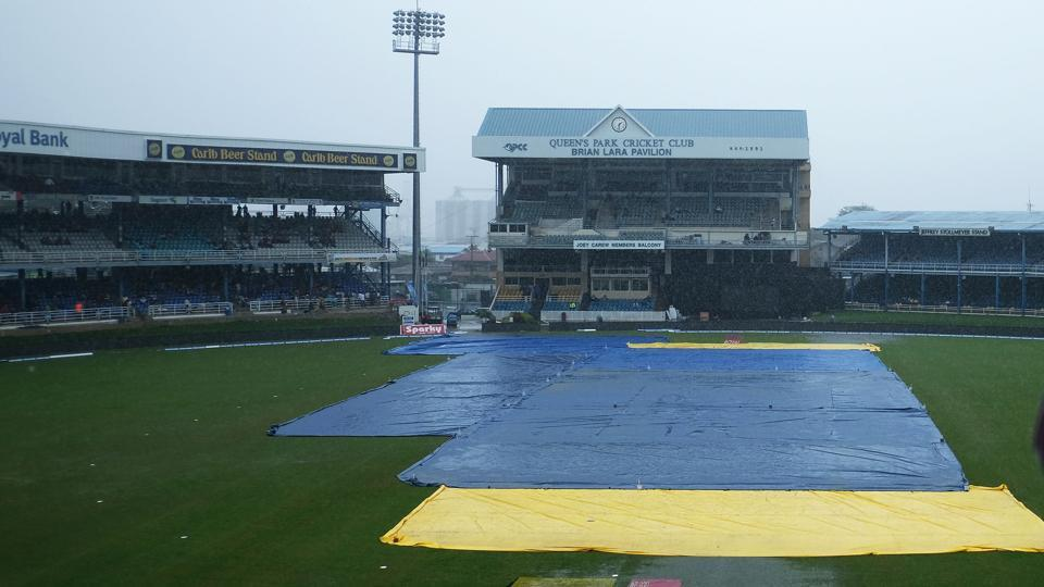 The first ODI between India and West Indies at Port of Spain was washed out due to rain on Friday.