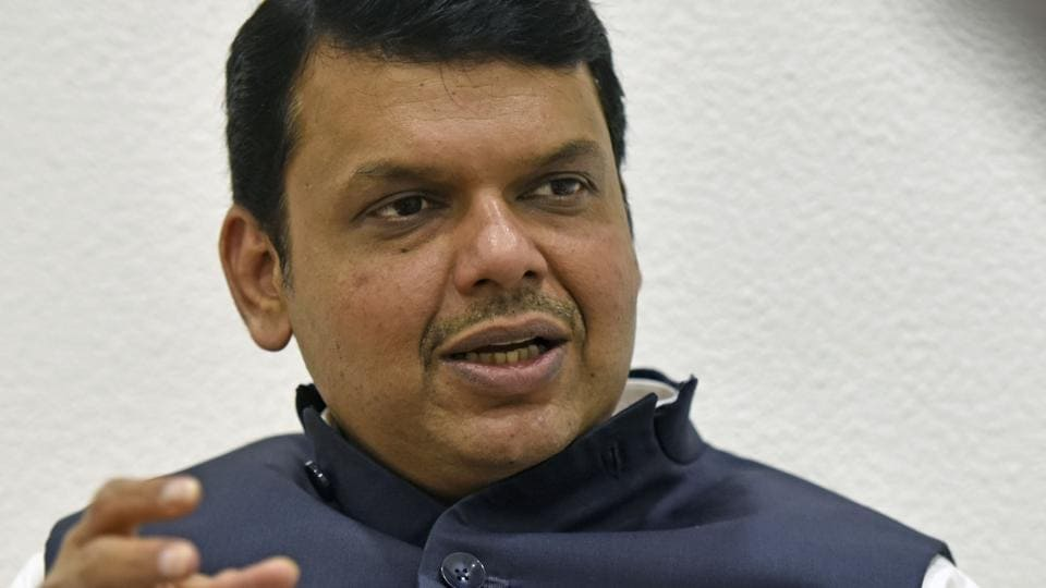 Maharashtra Chief Minister Devendra Fadnavis during an interview at his residence in Mumbai.