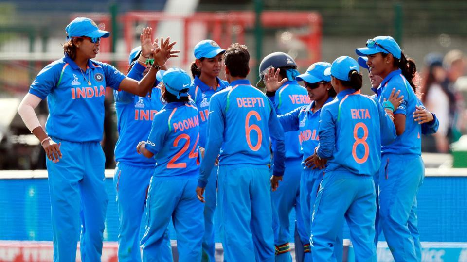 India got their ICC Women's World Cup campaign off to a great start as they defeated hosts England by 35 runs in the opening game of the tournament in Derby (Action Images via Reuters)