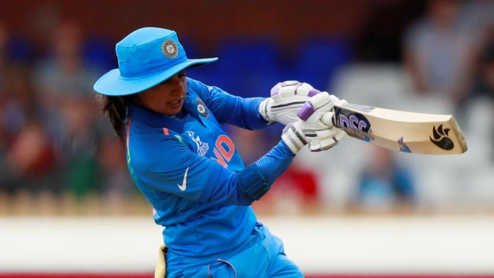 Mithali Raj smashed her seventh consecutive fifty in women's ODI cricket, which is a new world record as India registered a 35-run win against England in the ICCWomen's World Cup.